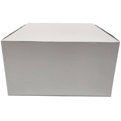 9 X 9 X 5 White Bakery Box