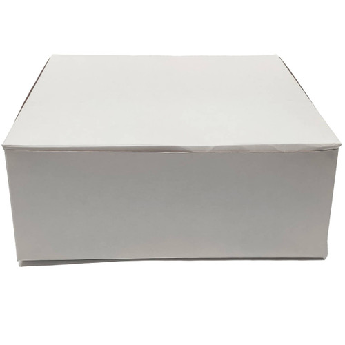 10 X 10 X 4 White Bakery Box - 100/ct