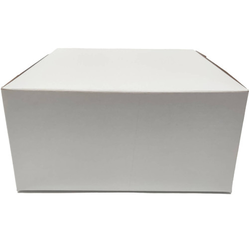 10 X 10 X 5  White Bakery Box -100/ct