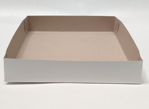 12 X 10 X 2 White Bakery Box - 100/ct