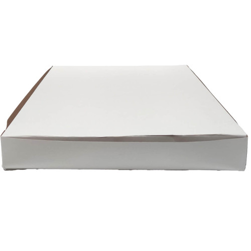 12 X 12 X 2 White Bakery Box