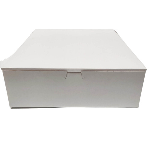 12 X 12 X 4 White Bakery Box