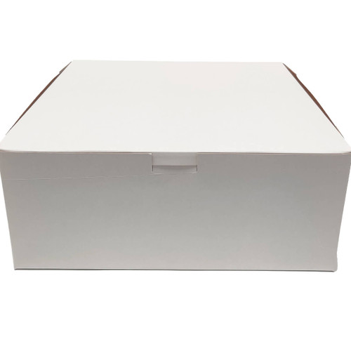 12 X 12 X 5  White Bakery Box - 100/ct