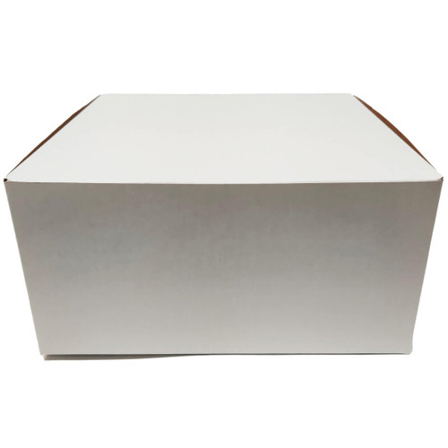 12 X 12 X 6 White Bakery Box