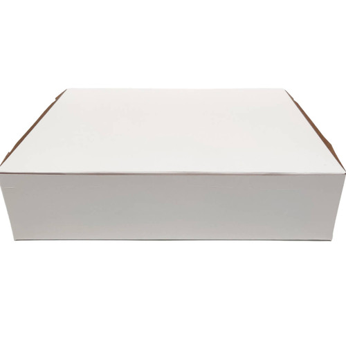 12 X 9 X 3 White Bakery Box