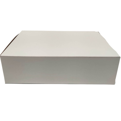 14 X 10 X 4 White Bakery Box