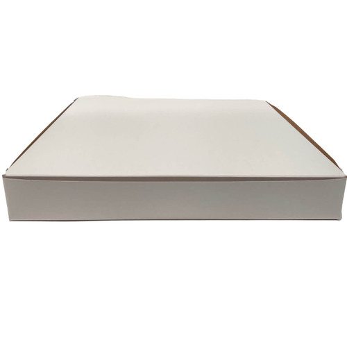 14 X 14 X 2  White Bakery Box