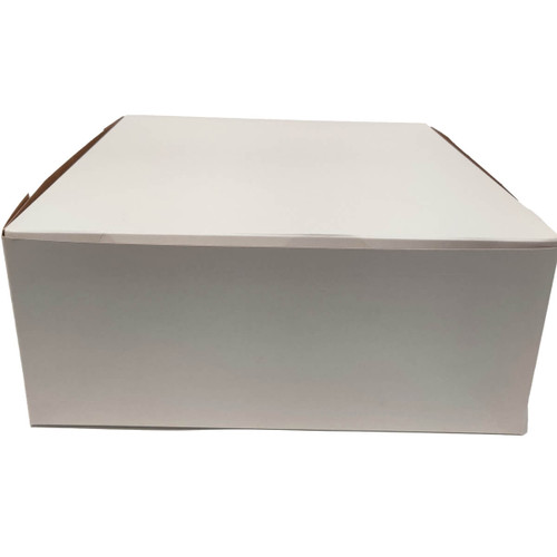 14 X 14 X 6 White Bakery Box