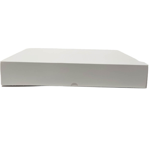 15 X 11.5 X 2.25 White Bakery Box