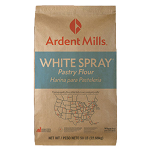 White Spray Pastry Flour