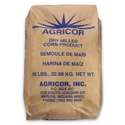 Agricor Course Yellow Cornmeal - 50 lbs