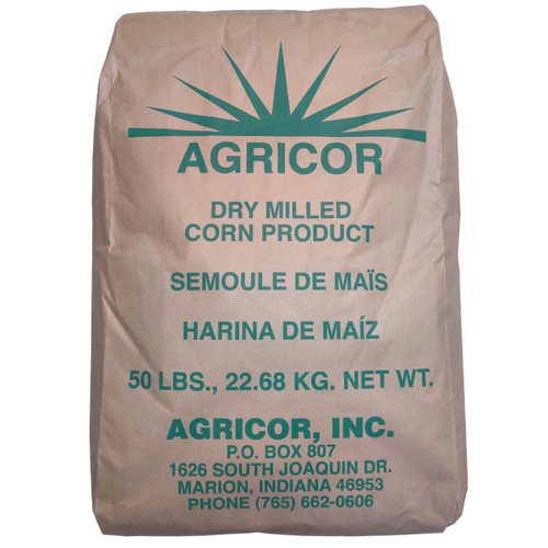 Agricor Fine Yellow Cornmeal - 50 lbs