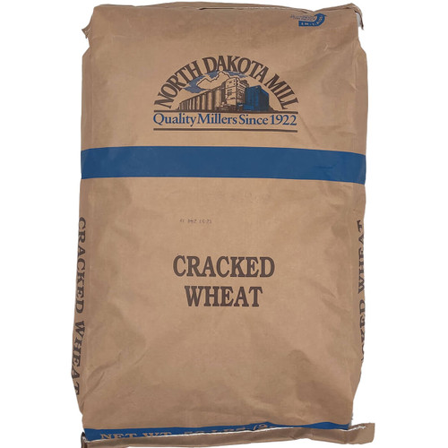 North Dakota Mill Crushed Wheat Flour - 50 lbs