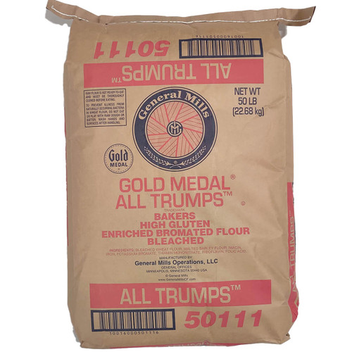 All Trump Hi-Gluten Flour