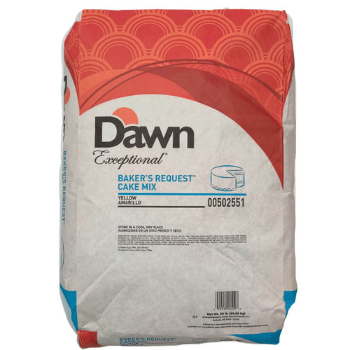 Dawn Foods Bakers Request Yellow Cake Mix