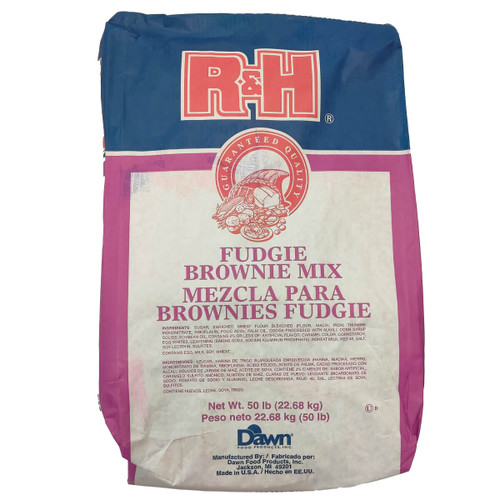 Dawn Foods R&H Fudgie Brownie Mix