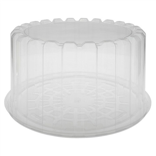 "8"" Cake Deep Container Combo Clear"