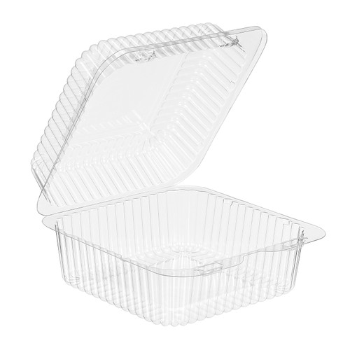 Inline Plastic SLP25 6X6 Hinged Container