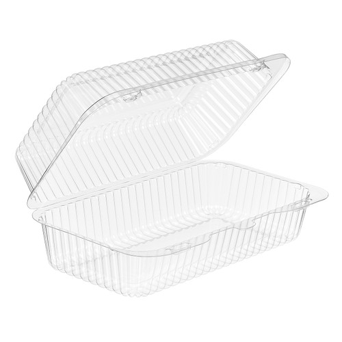 Inline Plastic SLP35 Medium Loaf Container - 500/ct