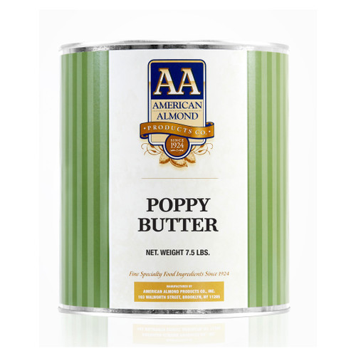 American Almond Poppy Butter