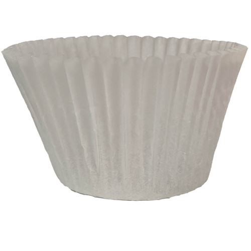 "6"" White Baking Cups"