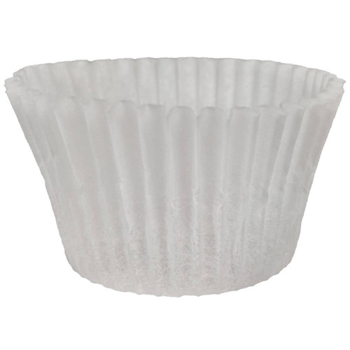 3in White Baking Cups
