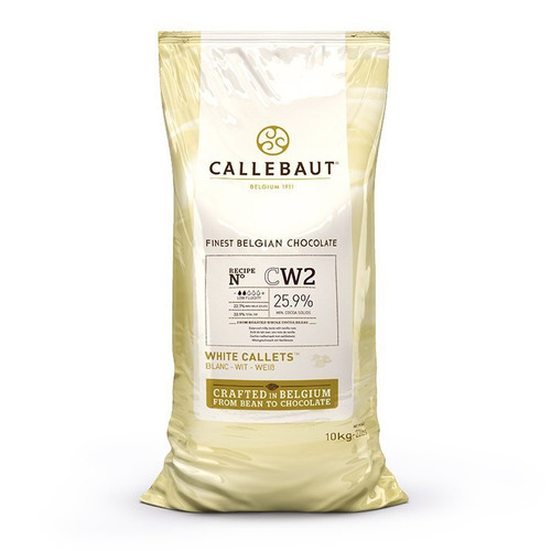 Callebaut White Chocolate Callets - 2.5kg (5.5lbs) - W2