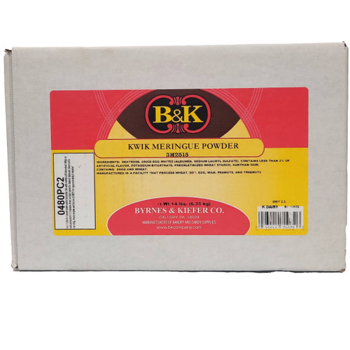 B&K Kwik Meringue Powder