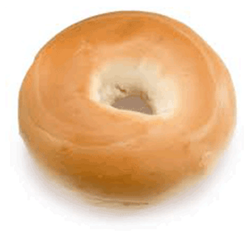 Par-Baked Plain Bagel - (78/4oz)