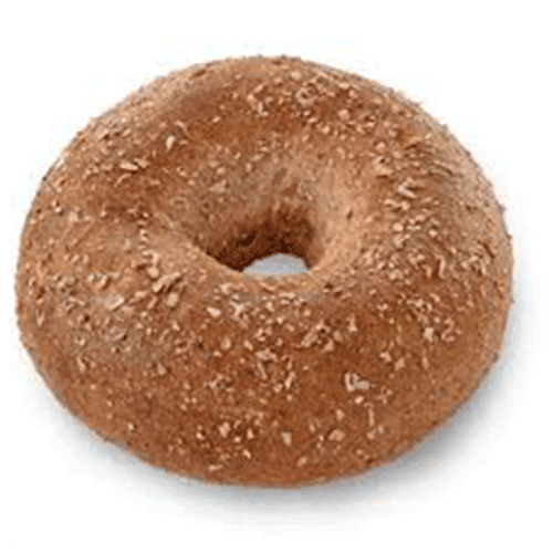 Raw Whole Grain Bagel Puck - 120/cs