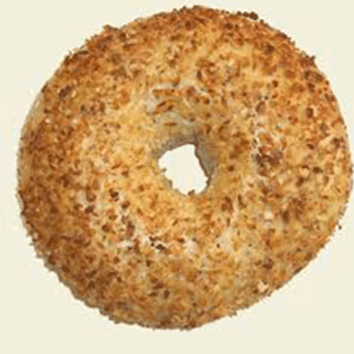 Raw Onion Bagel Puck - 120/cs