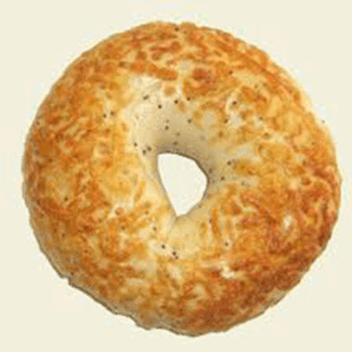 Raw Asiago Cheese Bagel Puck- 120/cs