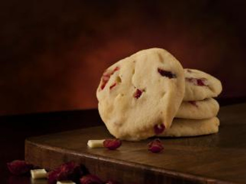 English Bay White Choc. Cranberry Shortbread