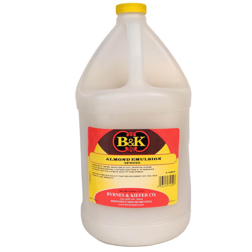 B&K Almond Emulsion - 1gal