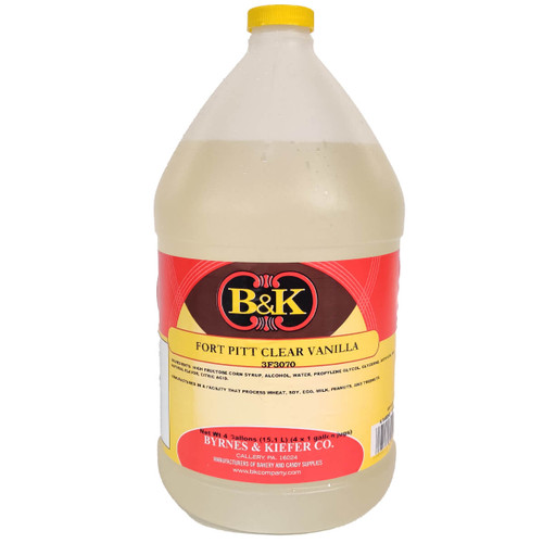B&K Fort Pitt Clear Vanilla