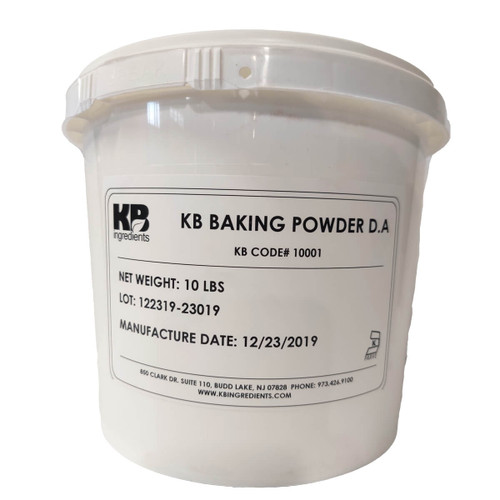KB Ingredients - Double Acting Baking Powder