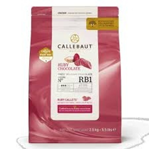 Callebaut Ruby Red Chocolate
