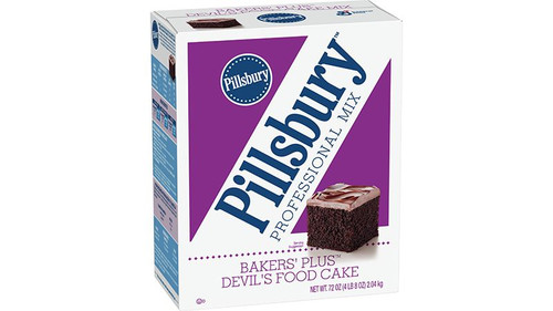 Pillsbury Bakers Plus Devils Food Cake Mix