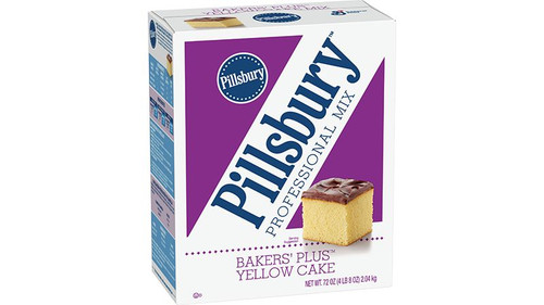 Pillsbury Bakers' Plus™ Cake Mix Yellow 4.5lbs