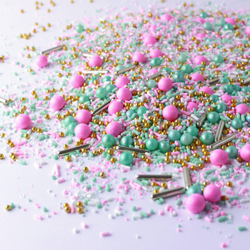 Signature Pink and Mint Sprinkles -1lb