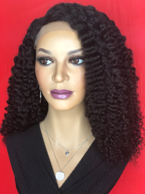 TreBella Kinky Curly Closure unit