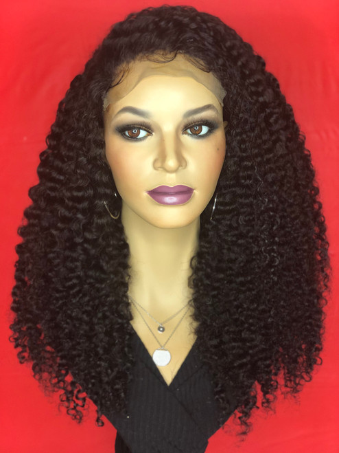 TreBella Kinky Curly Closure unit (FULL DENSITY)