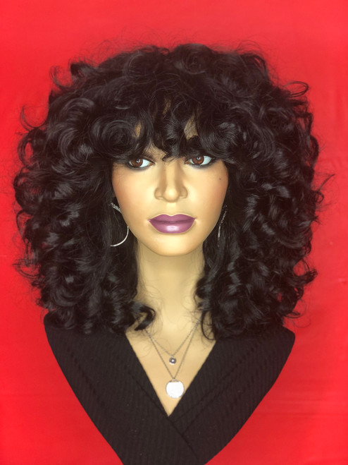 TreBella Wigs Custom Cambodian Curly full unit
