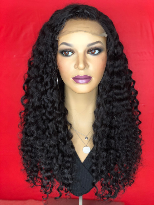 TreBella Curly Closure unit