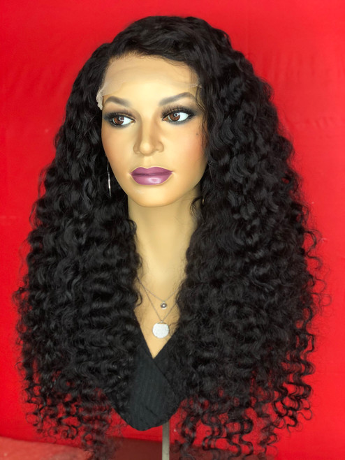 TreBella Curly Closure unit 16in
