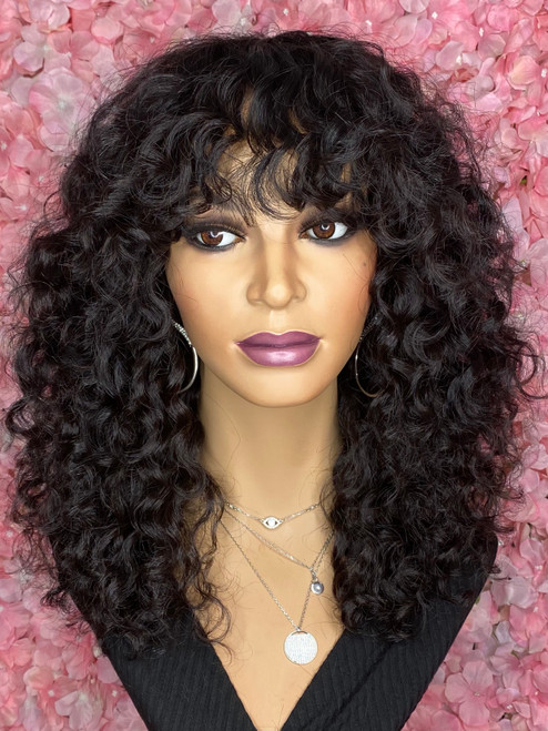 TreBella Curly full unit no closure