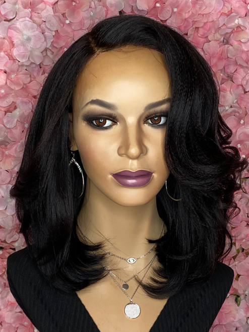 Gently Used TreBella Kinky Straight Closure unit