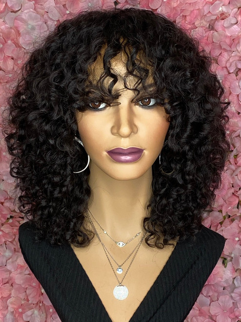 TreBella Curly unit no closure