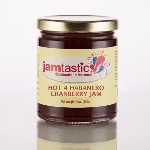 Hot 4 Habanero Cranberry Jam