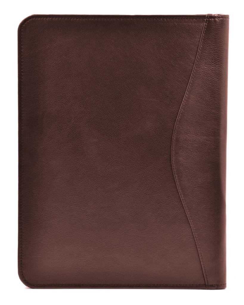 Ashlin® DESIGNER | AUGUSTIN Executive Zippered organizer Portfolio-Tablet case | Tuscany cowhide | [P8339-18]